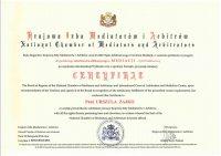 Kolejny ceryfikat dla adwokat Urszuli Zajko z Białegostoku