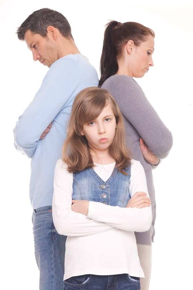 rodzina przed rozwodem